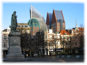 A_square_in_the_center_of_the_Hague