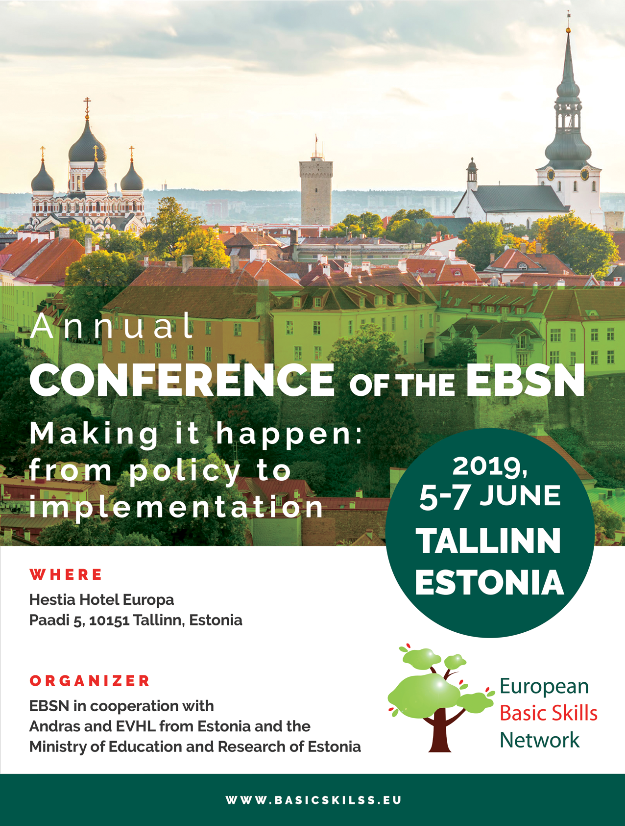 European Basic Skills Network Annual Conference - Lifelong Learning